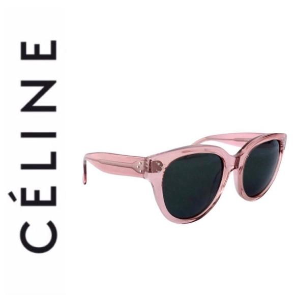 b00fa3e0ae Super Chic Celine Fabulous Audrey sunglasses blush